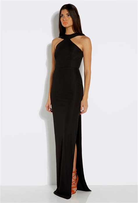 black maxi dress dressedupgirlcom