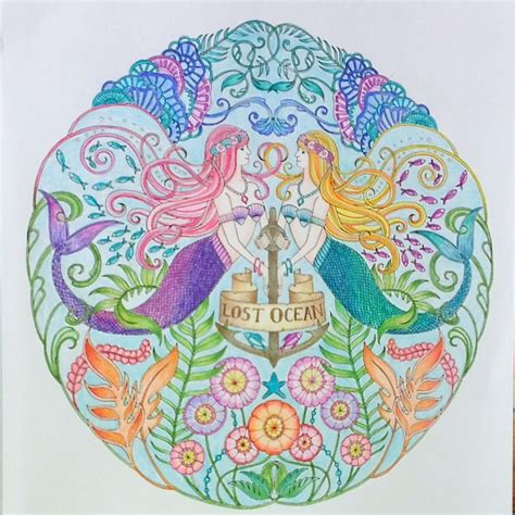 Lost Coloring Book Finished