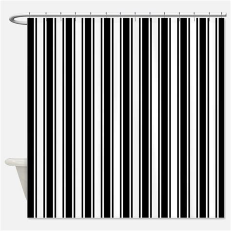 black white stripe curtain black and white gifts merchandise black and white gift