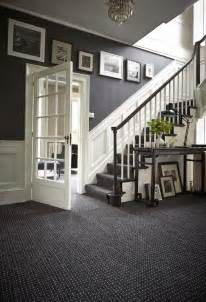 designs ideas decorating grey french style foyer with white wooden dado