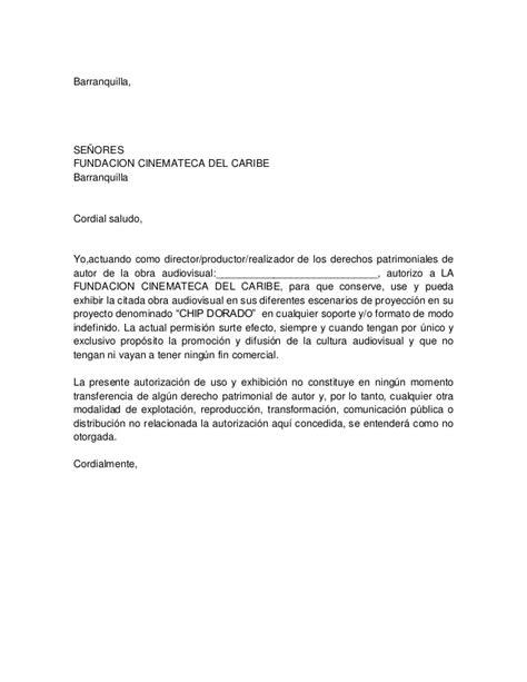 carta de autorizacion comercial modelo carta autorizacion chip dorado