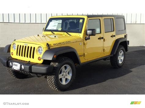 jeep rubicon yellow 2011 detonator yellow jeep wrangler unlimited rubicon 4x4