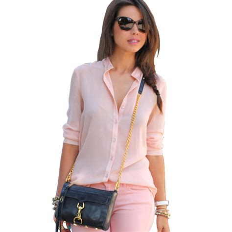 chiffon blouses for clothing
