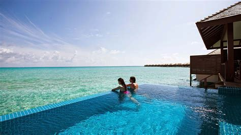 Best Floor Plan by Maldives Deluxe Water Villa Luxury Pool Villas Maldives