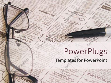 powerpoint templates free newspaper choice image powerpoint template open newspaper with pen and