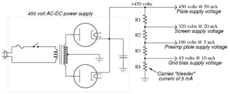 bleeder resistor calculation note that the two 5 k