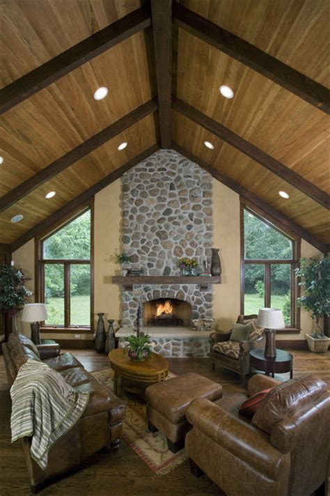 Great Room With Fireplace by Great Room Fireplace Traditional Family Room Chicago