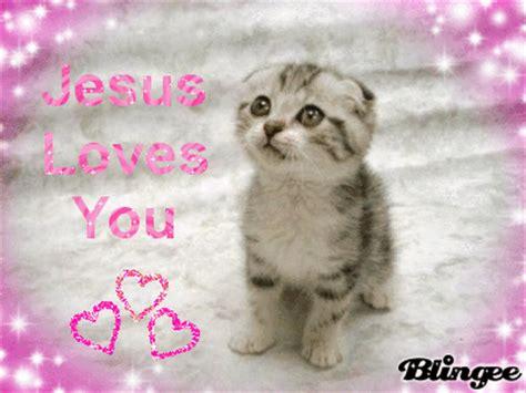 jesus loves  picture  blingeecom