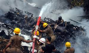 Plane crash photos graphic bodies air india plane crash kills