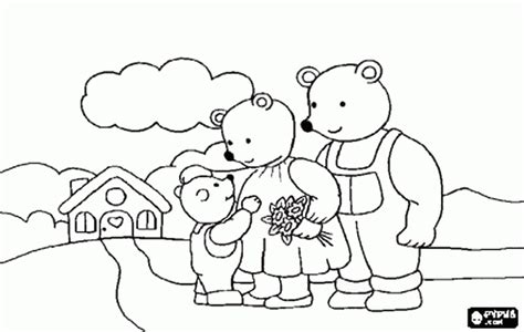 printable coloring pages goldilocks three bears coloring pages free coloring pages of the three bears