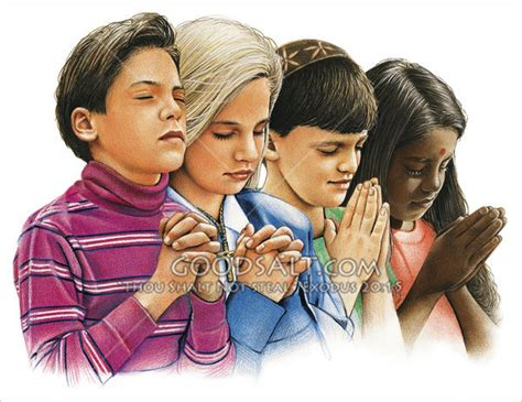 imagenes de personas reunidas orando children praying