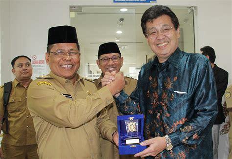Bibit Lele Di Banda Aceh amin zainal dan investor jepang bahas budidaya ikan tuna