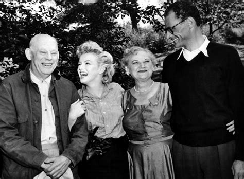 marilyn monroe parents arthur miller s daughter on her father marilyn and her