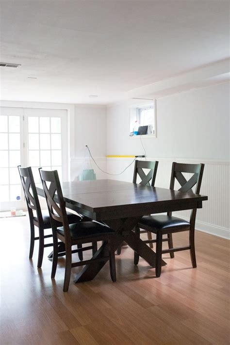 how to paint dining table before and after diy chalk paint dining table and chairs