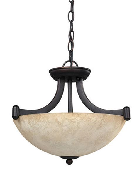 Menards Pendant Lighting Patriot Lighting 174 Warren 3 Light 14 25 Quot Rubbed Antique Bronze Convertible Pendant Or Semi