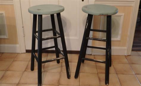 Chic Bar Stools by Shabby Chic Wooden Bar Stools Haute Juice