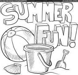 summertime coloring pages free coloring pages of a summer scenery