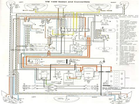 1974 vw beetle wiring diagram wiring forums