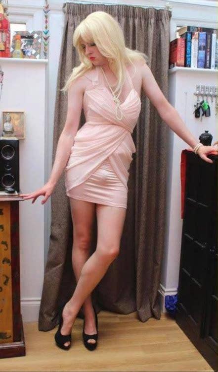 sissy fembois dressed images crossdressing crossdresser his new dress feminization