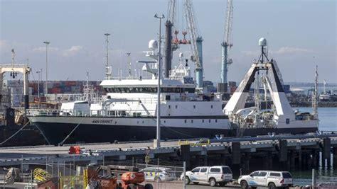 fishing boat death nz man who died on fishing vessel near banks peninsula was