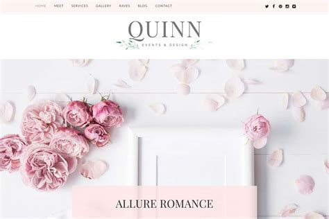 Quinn WordPress Theme for Event Planner