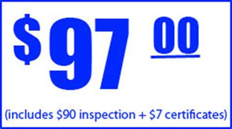 brake and light adjustment certificates brake and l inspection certification glendale ca