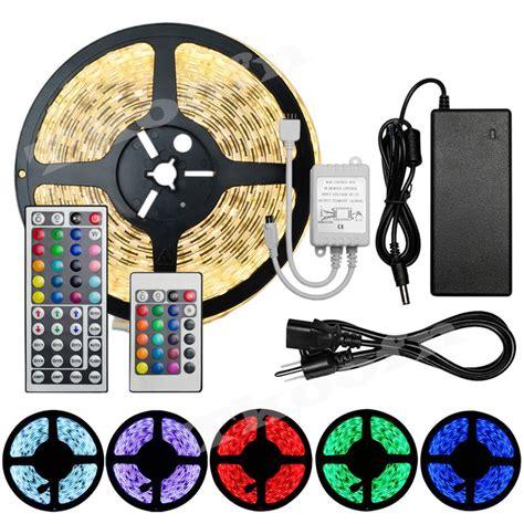 Led 3528 Rgb Ip44 Waterproof Plus Remote Plus Modul 5m 3528 5050 smd waterproof light 300 leds 24 44 key