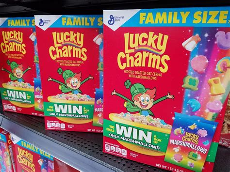 Lucky Charms Sweepstakes - lucky charms marshmallow only sweepstakes funtastic life
