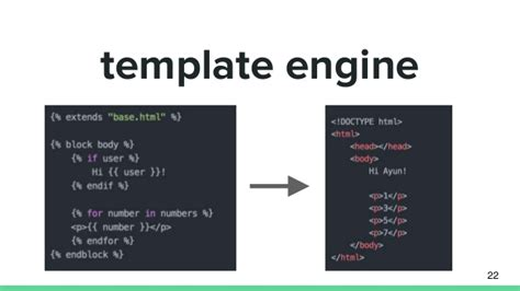 html template engine template engine 22