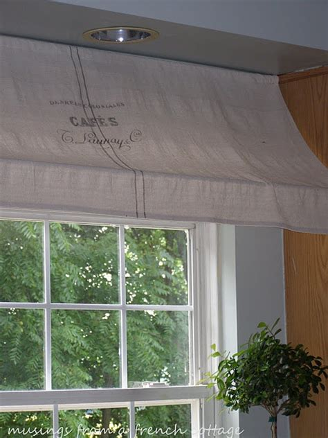 Indoor Awning (over the sink)   cute idea think I am