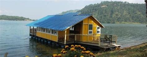 boat house at lumpongdeng island at umiam lake india - Umiam Lake Boathouse