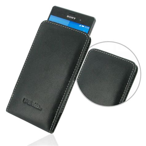 Sony Pouch Xperia M 1 sony xperia z3 leather sleeve pouch pdair sleeve holster flip