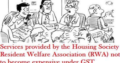 housing provided jobs services provided by the housing society resident welfare
