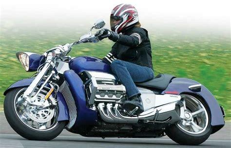 Honda V6 Motorrad by Honda Rune 1800cc Six Cylinder Motorcycle Road Test
