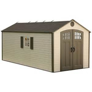home depot buildings for lifetime 8 ft x 17 5 ft plastic storage shed 60121 the