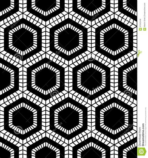 vector pattern hex vector modern seamless geometry pattern hex black and