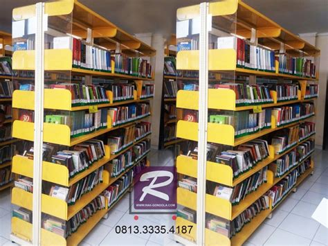Jual Rak Display Buku rak buku perpustakaan jual rak gondola minimarket murah