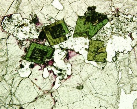 fluorite thin section optics lab 6 5