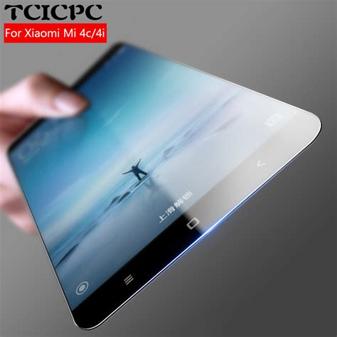Tempered Glas For Xiaomi Mi4sscreen Protector Xiaomi Mi4s aliexpress buy for xiaomi mi4c screen protector tempered glass 9h 2 5d 0 26mm explosion