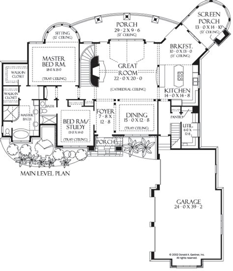 donald a gardner floor plans the hollowcrest house plan images see photos of don