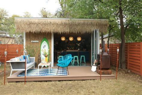 move  man caves  sheds put feminine spin