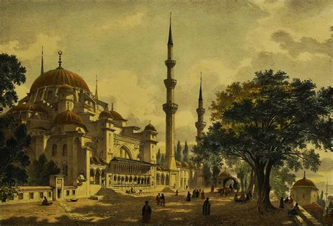 Ottoman Istanbul Engravings Of Ottoman Istanbul