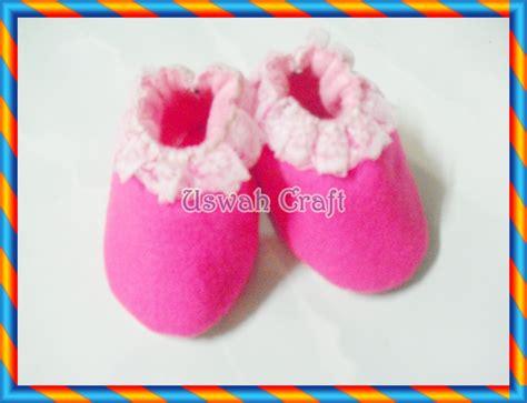 sepatu bayi sepatu bayi flanel uswah craft hp 085