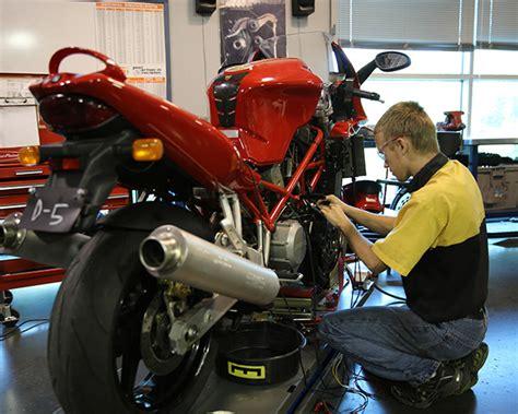 motorcycle mechanic education requirements sugakiya motor