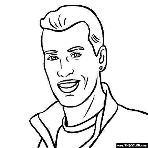 Free Coloring Pages Of Sergio Aguero Colour Pages Hull