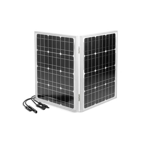 kohler 60 watt folding solar panel with cable for encube1