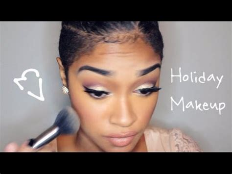 Macy S Cosmetics Giveaway - soft glam holiday makeup macy s giveaway youtube