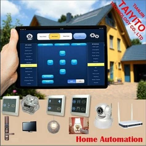 tyt android and ios mobile pad smart zigbee smart