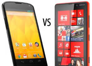 android vs windows phone windows phone vs android siliconangle