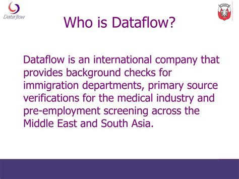 Background Check Unable To Verify Employment Ppt Primary Source Verification Dataflow Haad 8 Dec